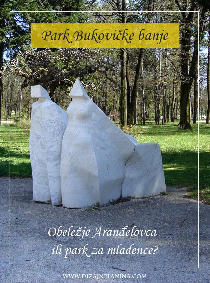 arandjelovac park bukovicke banje statua mladenaca