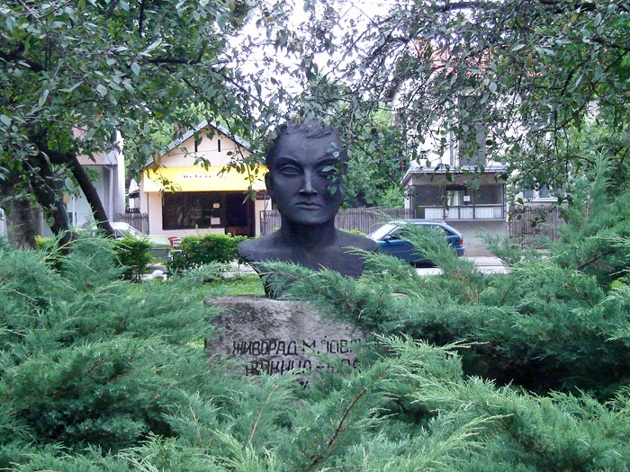 Spomenik Žikica Jovanović Španac Valjevo