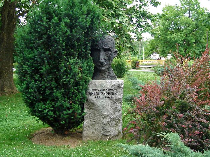 Spomenik Živan Đurđević Valjevo