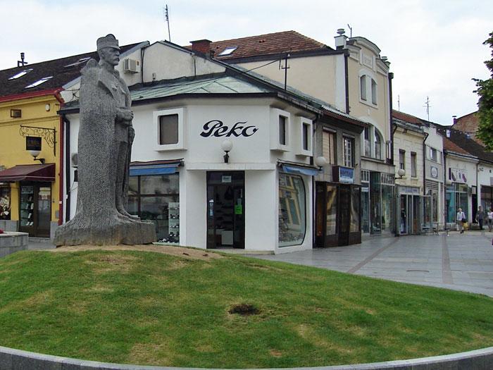 Spomenik Živojin Mišić Valjevo