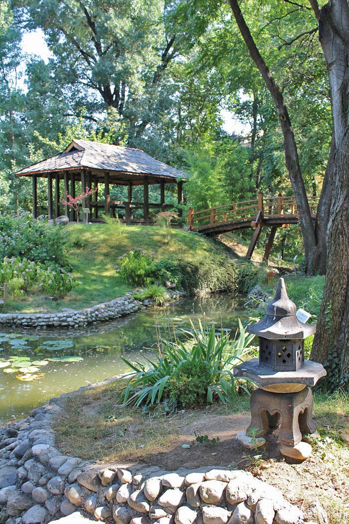Japanski vrt u Botanickoj basti Jevremovac