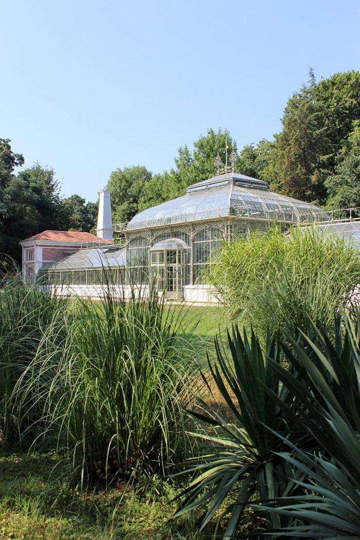 Staklena basta u Botanickoj basti Jevremovac