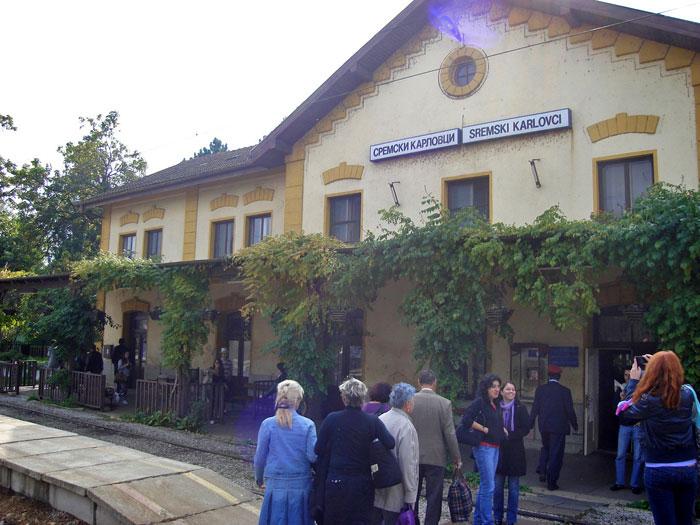 Železnička stanica Sremski Karlovci