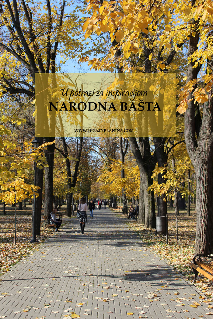 Narodna basta u Pancevu u jesen