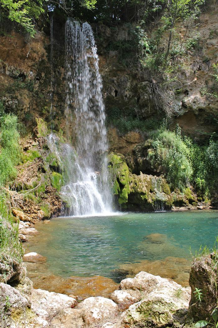 Lisine - vodopad Veliki Buk pravi buku koja donosi mir i tisinu