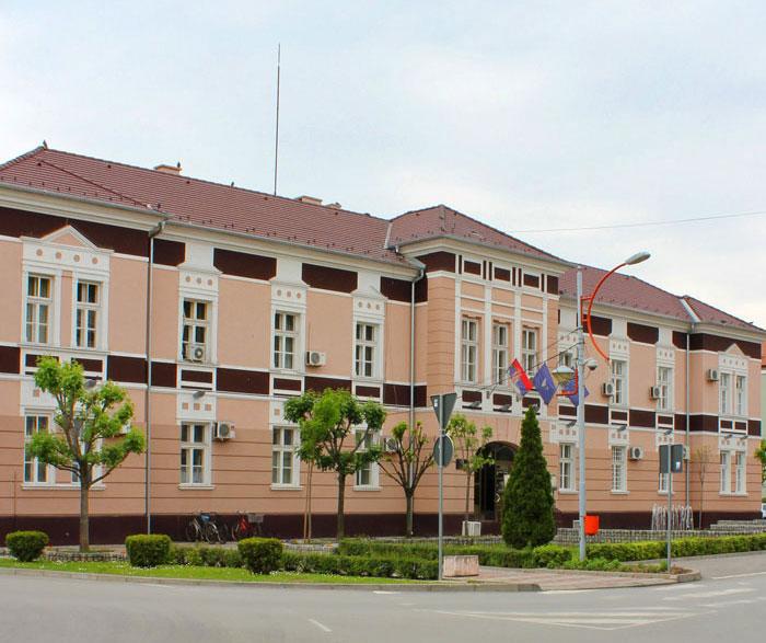 Zgrada opštine u Svilajncu